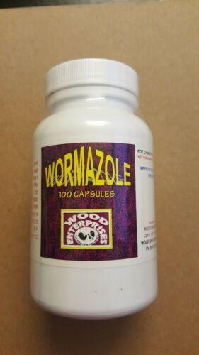 Wormazole 100 capsules - Products of Wood Enterprise USA
