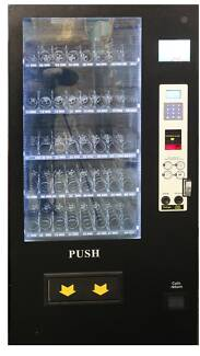 Brand New - REFRIGERATED COMBO Drink & Snack Vending Machine