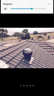 Whirlybird Roof Vent Installation