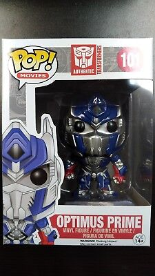 Funko POP Optimus Prime Transformers Movie Autobot Near Mint