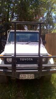 1989 Toyota LandCruiser Tool Truck Ute Stapylton Gold Coast North Preview