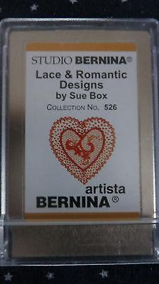 Bernina Studio Lace & Romantic Designs #526 Sue Box Embroidery Card for Artista