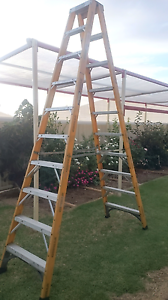 Gorilla Fibreglass 3m Ladder Smithfield Playford Area Preview