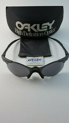 Oakley Null 0.4 Graupel Schwarz Iridium gen 1 + Hartschale 05-104 Selten