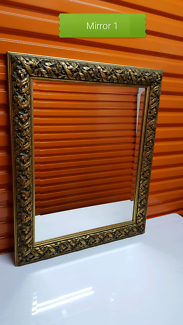 Decorative period mirrors, buy individually or as a lot