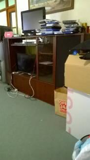TV Unit Entertainment Cabinet. Good Condition.