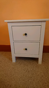 White Bedside table Renmark North Renmark Paringa Preview