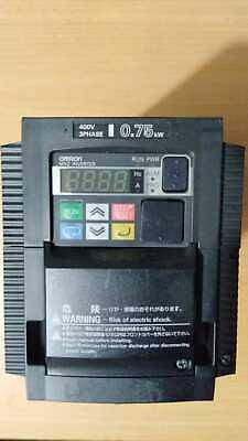Omron Hitachi Wj200-007hfe Vfd 0.75kw Frequency Converter Inverter
