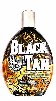 Black & Tan 75x Bronzer / Accelerator Indoor Tanning Bed Lotion by Millennium