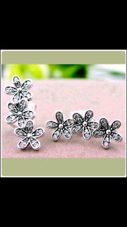 100% Authentic Pandora Dazzling Daisy Clusters Earring Studs.