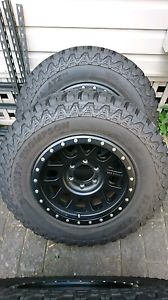 "Method 17"" 6 stud wheels Mt atz p3's Eastwood Ryde Area Preview"