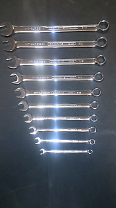 Sidchrome Brand New Metric Ring Open End Spanner set Moorebank Liverpool Area Preview