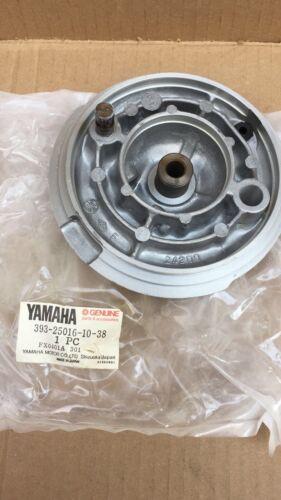 YAMAHA GT1 GTMX GT80 RD60 LB50 1972 1973 FRONT BRAKE PLATE 393-25016-10-38 N.O.S