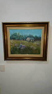 Original impressionist style Painting Tewantin Noosa Area Preview