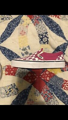 Vans Shoes Sale Kids (Vans Girls Shoes  (SALE- FREE SHIPPING)Size 12 1/2 Pink/White Checker Brand)