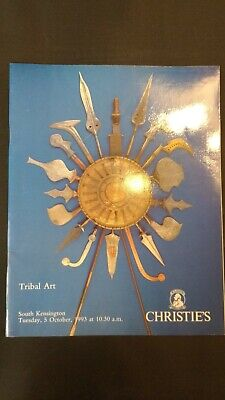CHRISTIE'S CATALOGUE 1993 Tribal Art