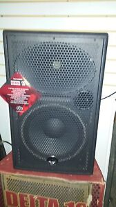 NEW wharfdale Pro Delta 12 DJ Band Speakers Pair
