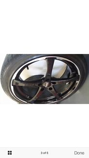 18 inch advanti racing nova alloy wheels with tyre fit Mercedes benz Runcorn Brisbane South West Preview