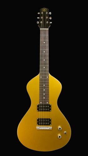 NEW Asher Electro Hawaiian® Junior Lap Steel Gold Top - Improved!