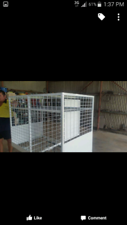 New dog cage for ute