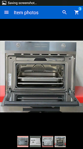 Smeg steam oven new Shell Cove Shellharbour Area Preview