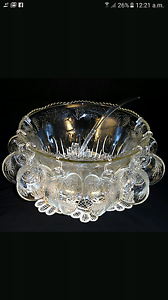 Brand new Punch Bowl Set Of 12 With 1 Big Bowl & 1 Spoon Bassendean Bassendean Area Preview
