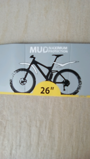 NEW Mountain bike MUDGUARDS topeak defender