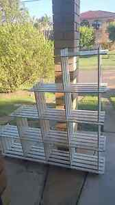 White shelving unit lightweight Stafford Heights Brisbane North West Preview