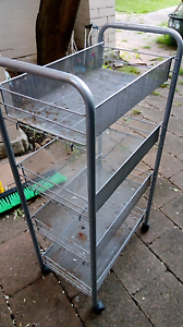 Handy set of wheeled shelves/bathroom trolley Drummoyne Canada Bay Area Preview