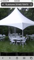 20'x20'x9' TENT FOR RENT $250 call (204) 229-3266