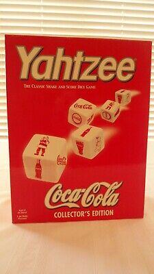 Coca Cola Yahtzee Game Collector's Edition, NIB, Mint