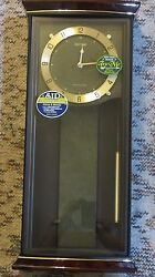Rhythm Musical quartz wall clock. Brand New in box. 16 melodies