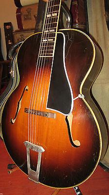 Vintage 1949 Gibson L 7 Archtop Acoustic Guitar Sunburst W/ Case Incredible!