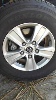 landcruiser wheels and tyres