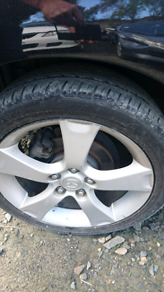 MAZDA 3 2005 MAXX SPORT ALLOY WHEELS GOOD TYRES FOR SALE