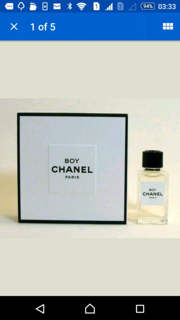 36e850230d CHANEL LES EXCLUSIVES BOY Eau de Parfum 4 ml 0.12 fl.oz ...