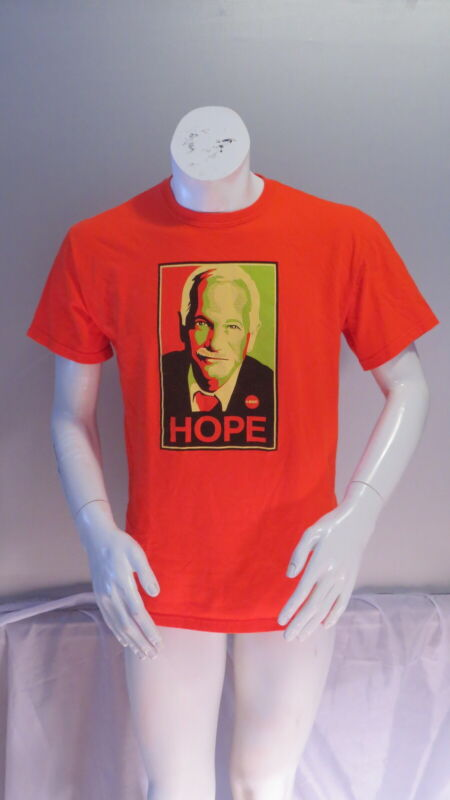 Canadian Political Shirt - Jack Layton Hope (Obama Style) 2004 - Men