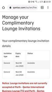 Qantas lounge pass