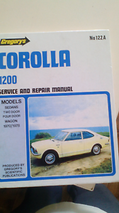 Gregorys service and repair manual for Toyota corolla Blacktown Blacktown Area Preview