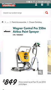 Wagner paint sprayer gumtree australia free local classifieds fandeluxe Gallery