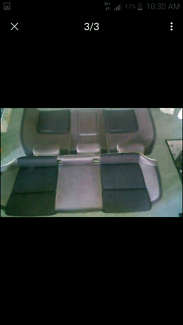 Ve clubsport hsv rear seat