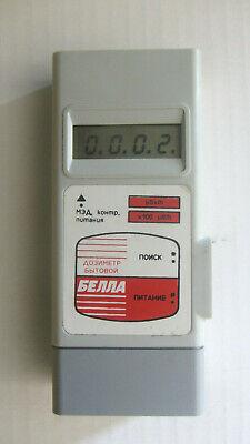 Soviet Ussr Dosimeterradiometer Bella Geiger Counter Vintage