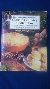 Vintage Cookbook CLASSIC COUNTRY COLLECTION Australian LADY FLO BJELKE-PETERSEN