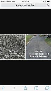 Recycled asphalt ,aggregates,driveway,road Narellan Camden Area Preview