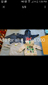 Baby boys clothes South Windsor Hawkesbury Area Preview