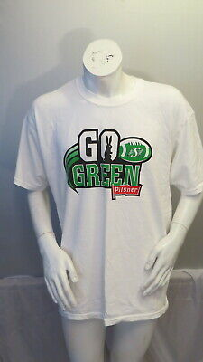 Old Style Pilsner Saskatchewan Roughrider Shirt - Go Green Graphic - Men's XL Old Style Pilsner