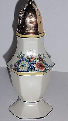 Antique Noritake Morigama Sugar Spice Shaker decorated with Hand Painted details Noritake Spice