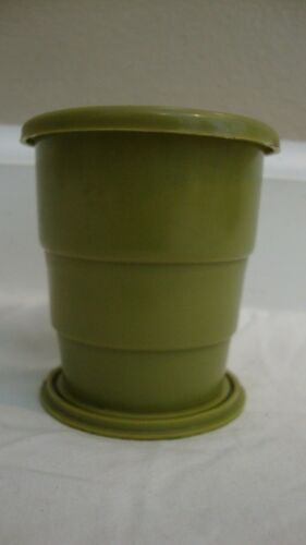 Collapsible Drinking Cup WECOLITE Boy Scout Hiking Camping Survival Pack Green