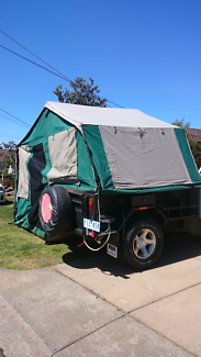 Camper trailer, 4x4 offroad, camping gear included.