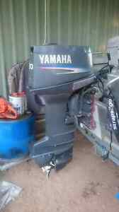 2005 yamaha 30 hp tiller outboard elec start/tilt Muswellbrook Muswellbrook Area Preview